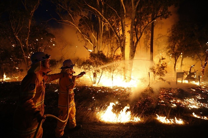 New South Wales bushfires linked to military explosives exercises NSW-Bushfire