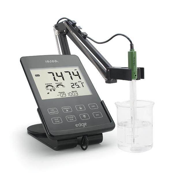 edge, le multiparamè pH - EC - OD au format tablette