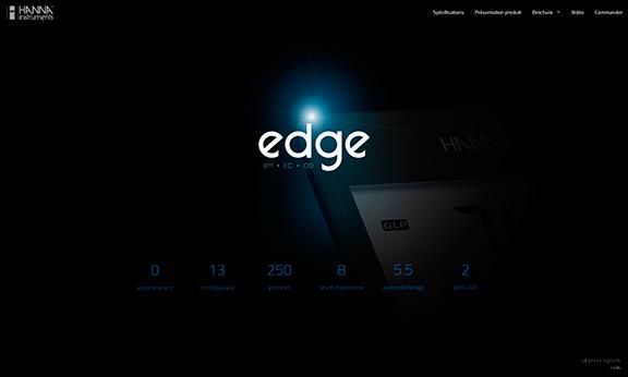 Mini-site edge