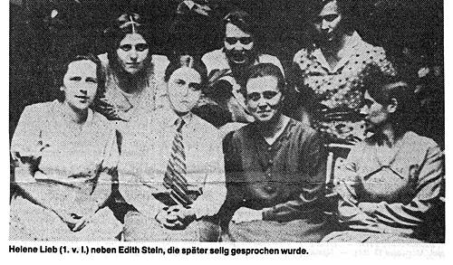 Edith Stein:Histoire d'une Carmélite d'origine juive exécutée.....    Edith_stein03