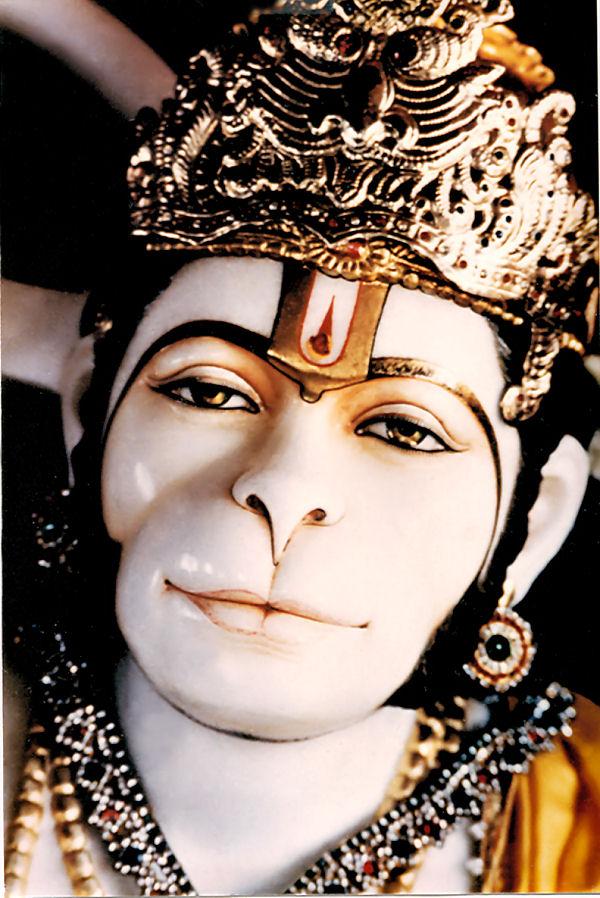 Hanuman, le corps humain  habité par le divin   Hanuman_1a