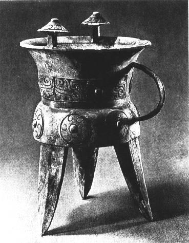 La sculpture chinoise ancienne Bronze01