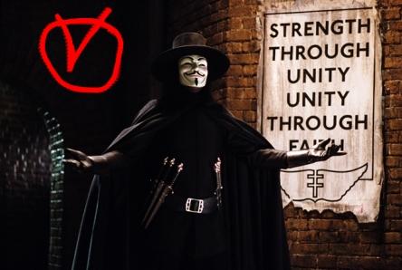 Oo  V for Vendetta oO V1