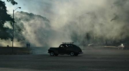El dengue Fumigation