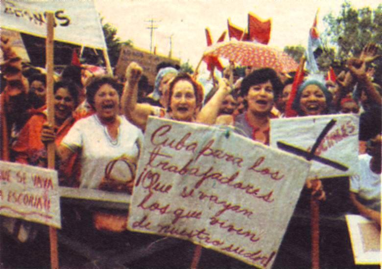 exodo del mariel Repudiation-of-Mariel-emigrants.-Revista-la-Nacion-de-Argentina