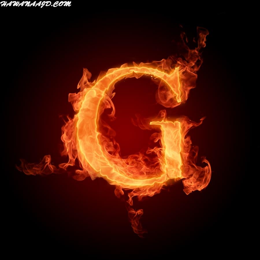حروف بالنار G