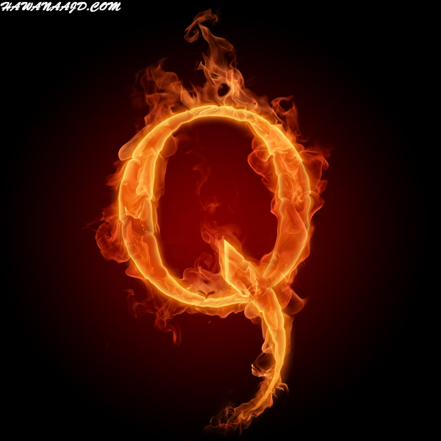 حروف بالنار Q