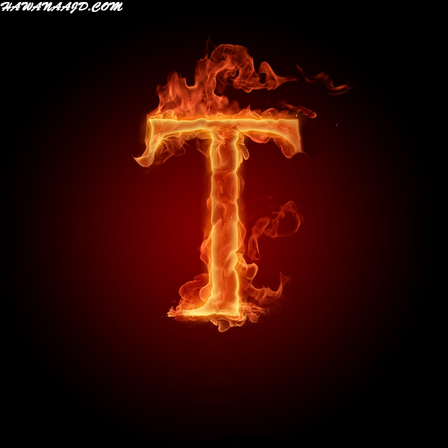 حروف بالنار T