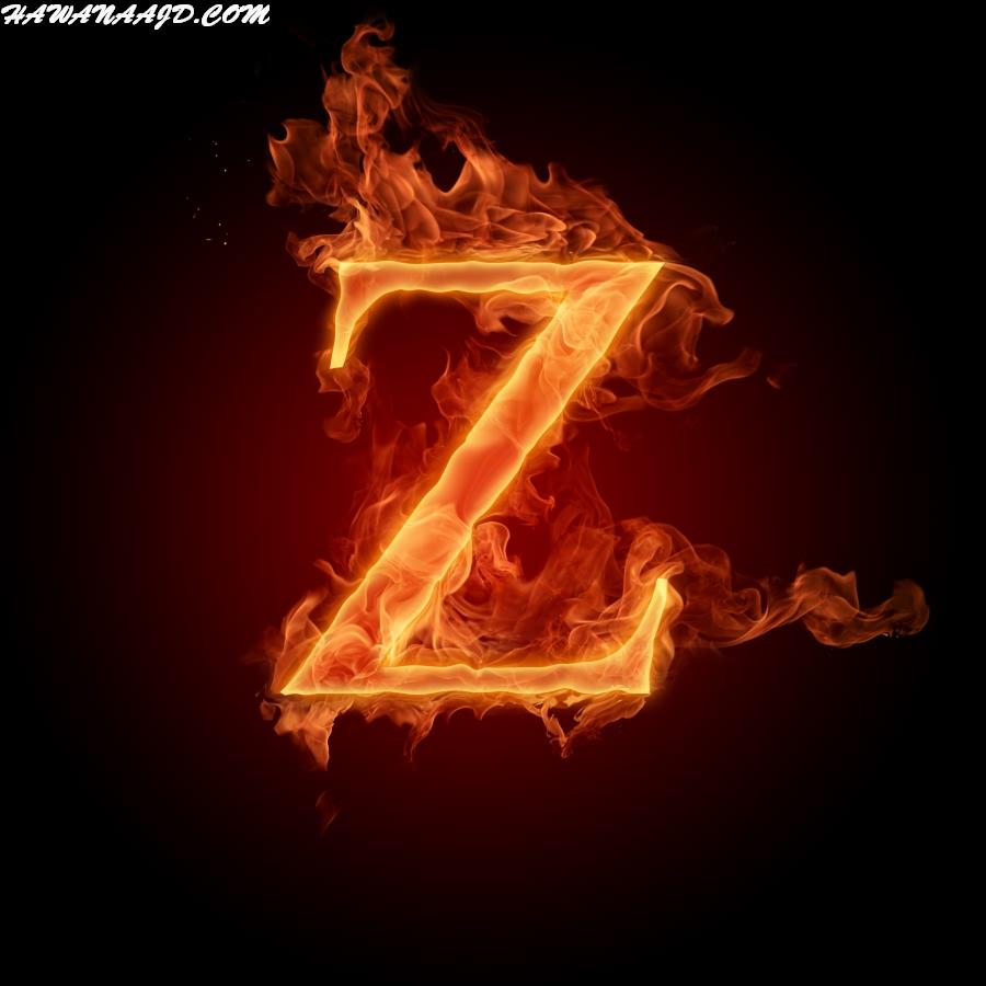 حروف بالنار Z