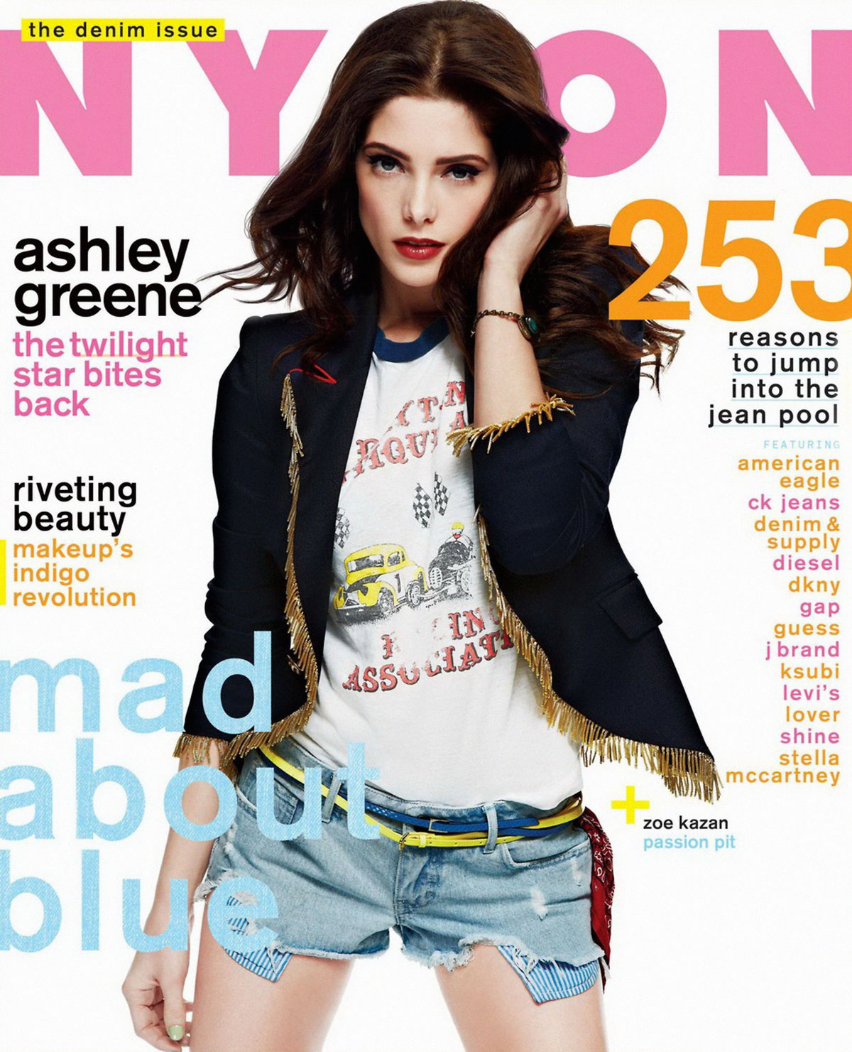 AfterSounds Next Top Model (C3) - Guys vs Girls (Hollywood Edition) - GANADORA Pag, 27 (IV) - Página 15 ASHLEY-GREENE-in-Nylon-Magazine-August-2012-Issue-2