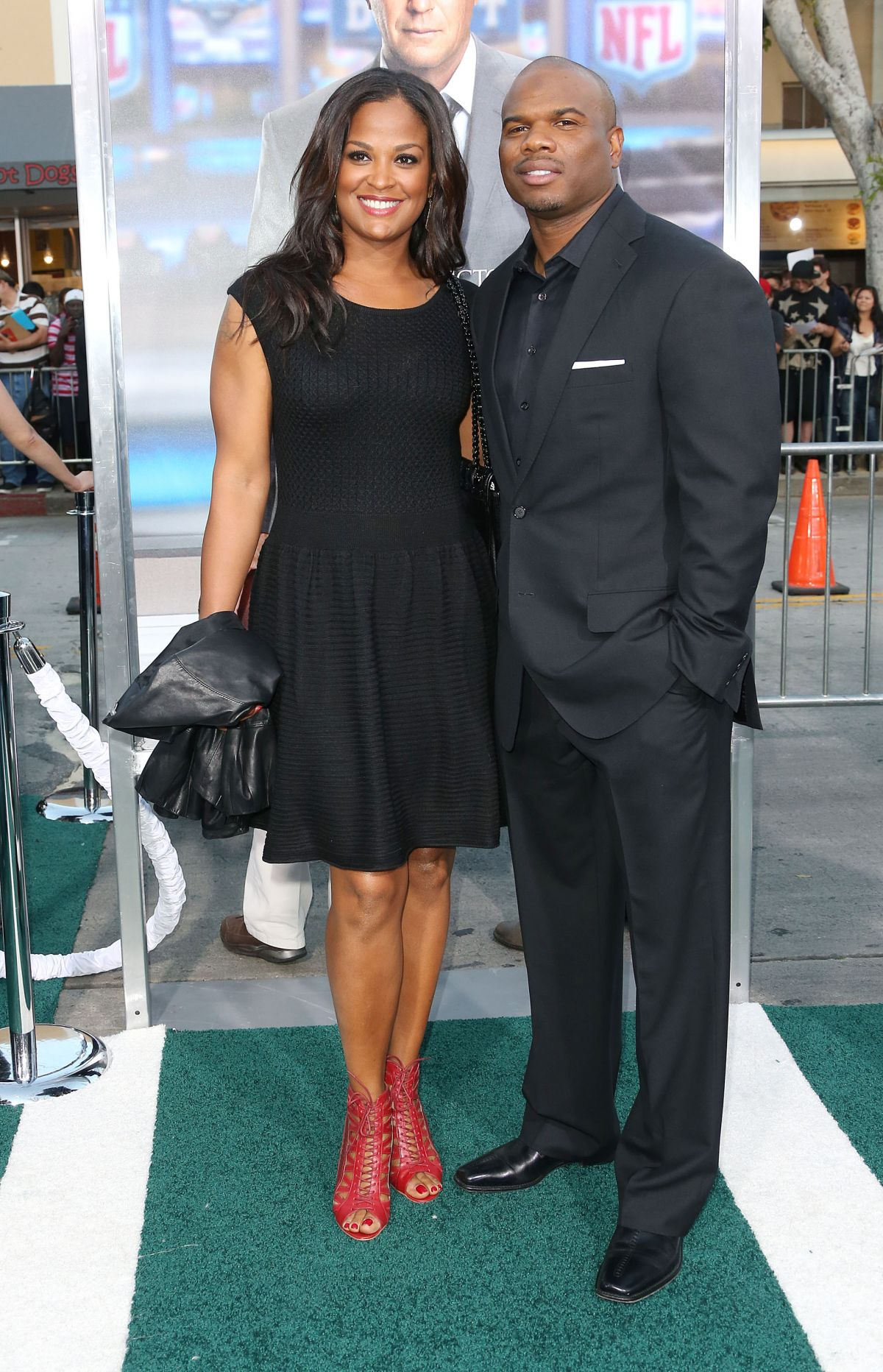 ¿Cuánto mide Laila Ali? - Real height and weight Laila-ali-at-draft-day-premier-in-los-angeles_5