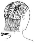 تردين قص شعرك لوحدك طريقة 11431