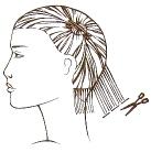 تردين قص شعرك لوحدك طريقة 11432
