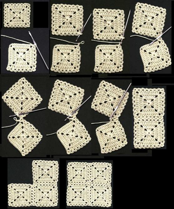شرح تشيبك وحدات الكروشية بالصور,شرح طريقة تعليم وحدات الكروشية سهلة   138322