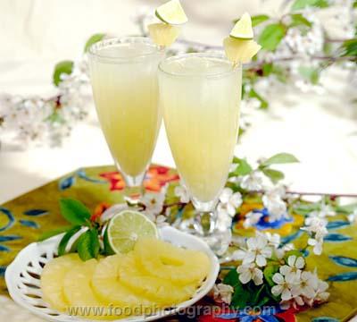عصير الاناناس البارد 24322