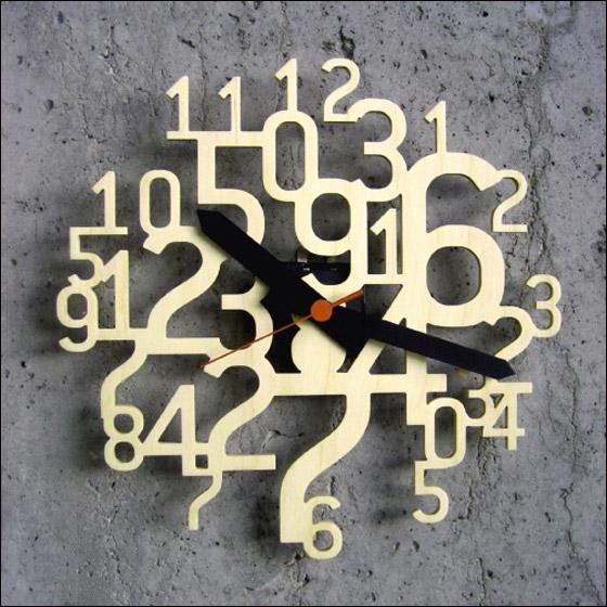 ساعات الحائط  رهيبه واشكال مختلفه 26335