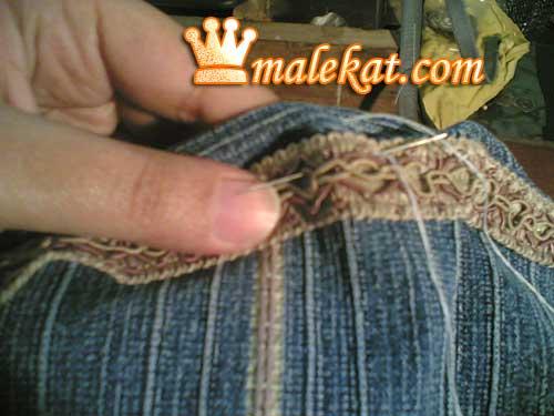 اصنعي شنطه جينز من ارجل البطلون بالخطوات والصور  64060