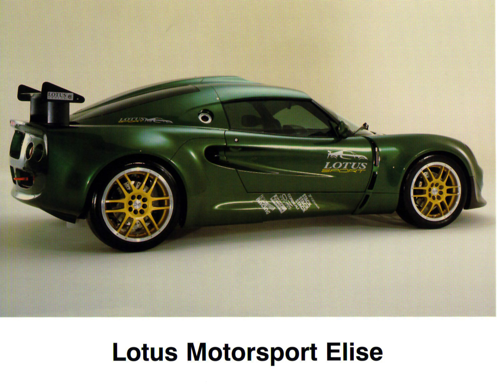 Lotus Elise S1 20th Anniversary 1995-2015 - Pagina 2 Image001
