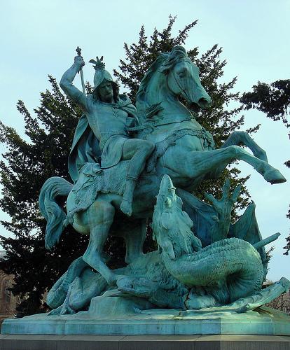 Zagrebački spomenici, skulpture, biste Sv.Juraj-na-jos-uviek-Trgu-marsala-Tita