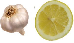 علاج للثة النازفة.. Garlic-lemon