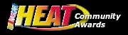 13th Heat Community Awards Voting Open Calogo