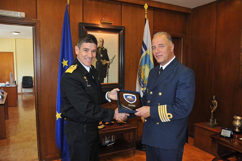 Coopération militaire Maroc - Grèce  -