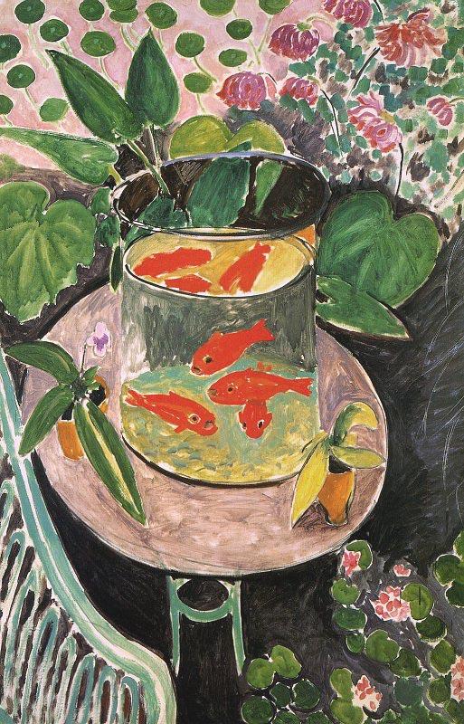 Αγαπημένα Έργα Τέχνης Goldfish