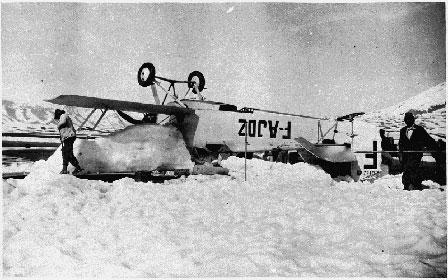 L'Aéropostale relie la France au Sénégal Avion_PotezGuillaumet1930