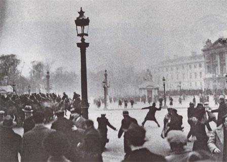 6 février 1934 -  Manifestation sanglante à Paris Concorde1934