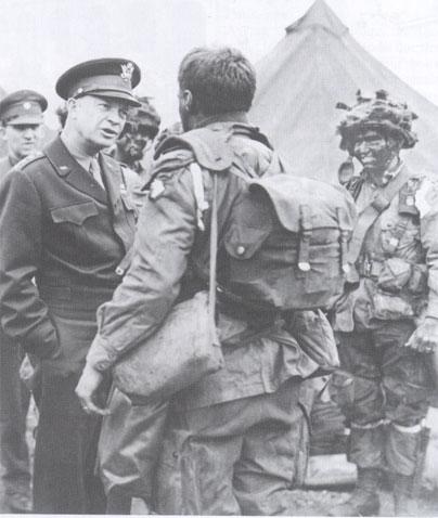 6 juin 1944 : Les Alliés débarquent en Normandie. Eisenhower1944