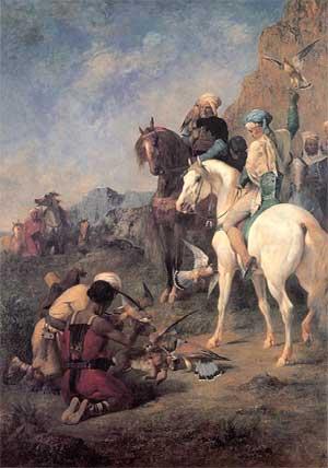 Quand l'Orient envoûtait les Français Fromentinchasseaufaucon