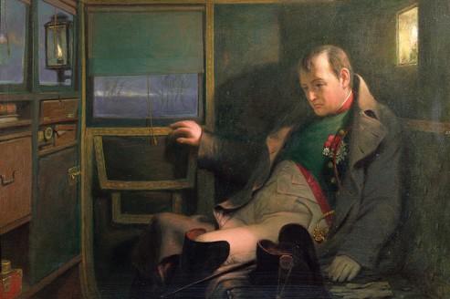 Fin du 1er Empire :  Le trésor perdu de Napoléon Ier Napoleon_berline_John_Chapman