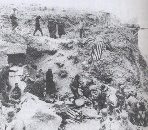 6 juin 1944 : Les Alliés débarquent en Normandie. Omaha1944