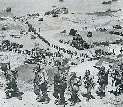 6 juin 1944 : Les Alliés débarquent en Normandie. Overlord