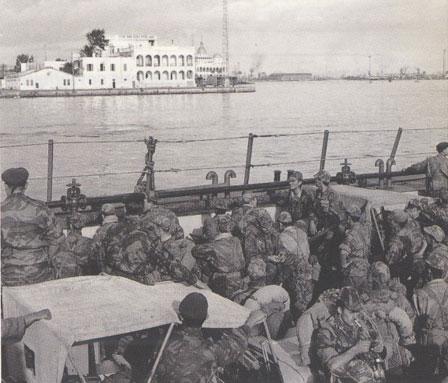 """opération """"AMILCAR"""" Suez1956"""