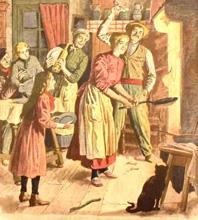 2 Février : C'est sa fête : La Chandeleur. Chandeleur1