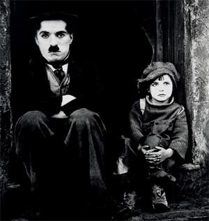 The Kid, premier long métrage de Charlot Charlotkid