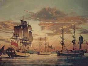Australie ... Premiers immigrants européens ... Firstfleet