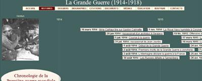EN BREF :  1914-1918 - La Grande Guerre ou Première Guerre mondiale par André Larané Frise_14-18