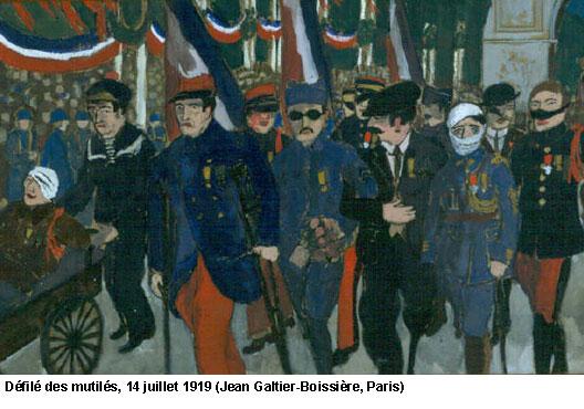 EN BREF :  1914-1918 - La Grande Guerre ou Première Guerre mondiale par André Larané 1418gueulescassees