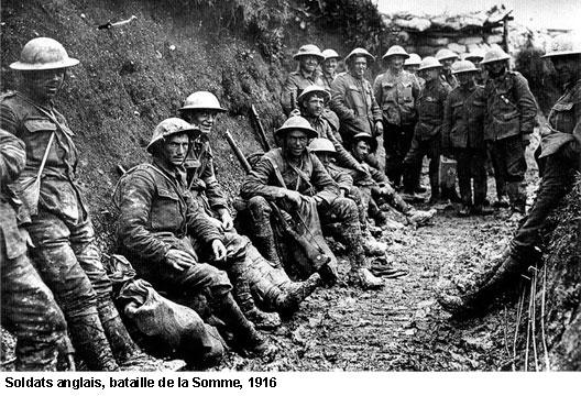EN BREF :  1914-1918 - La Grande Guerre ou Première Guerre mondiale par André Larané 1418somme
