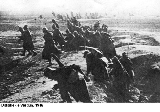 EN BREF :  1914-1918 - La Grande Guerre ou Première Guerre mondiale par André Larané 1418verdun