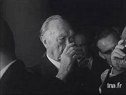 C'était il y a... cinquante ans L'année 1962 en images Adenauer-reims