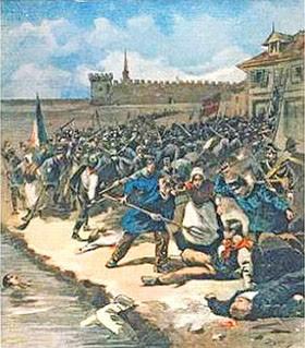 Le peuplement de la France : L'immigration européenne avant 1914 Aiguesmortes