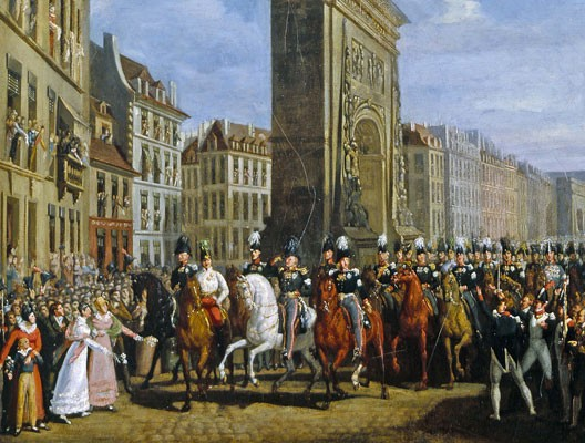 La derniere campagne de Napoleon Allies1814