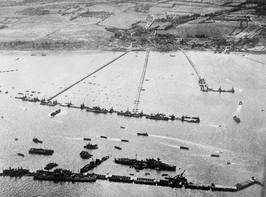 6 Juin 1944 .... Arromanches