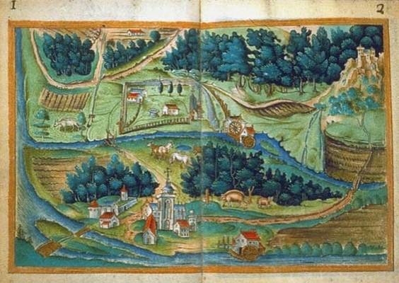 Le village médiéval Billette