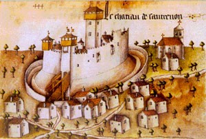 Le village médiéval Cautrenon