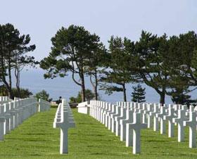 6 juin 1944 : Les Alliés débarquent en Normandie. Colleville