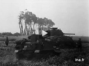 6 juin 1944 : Les Alliés débarquent en Normandie. Debarquementina